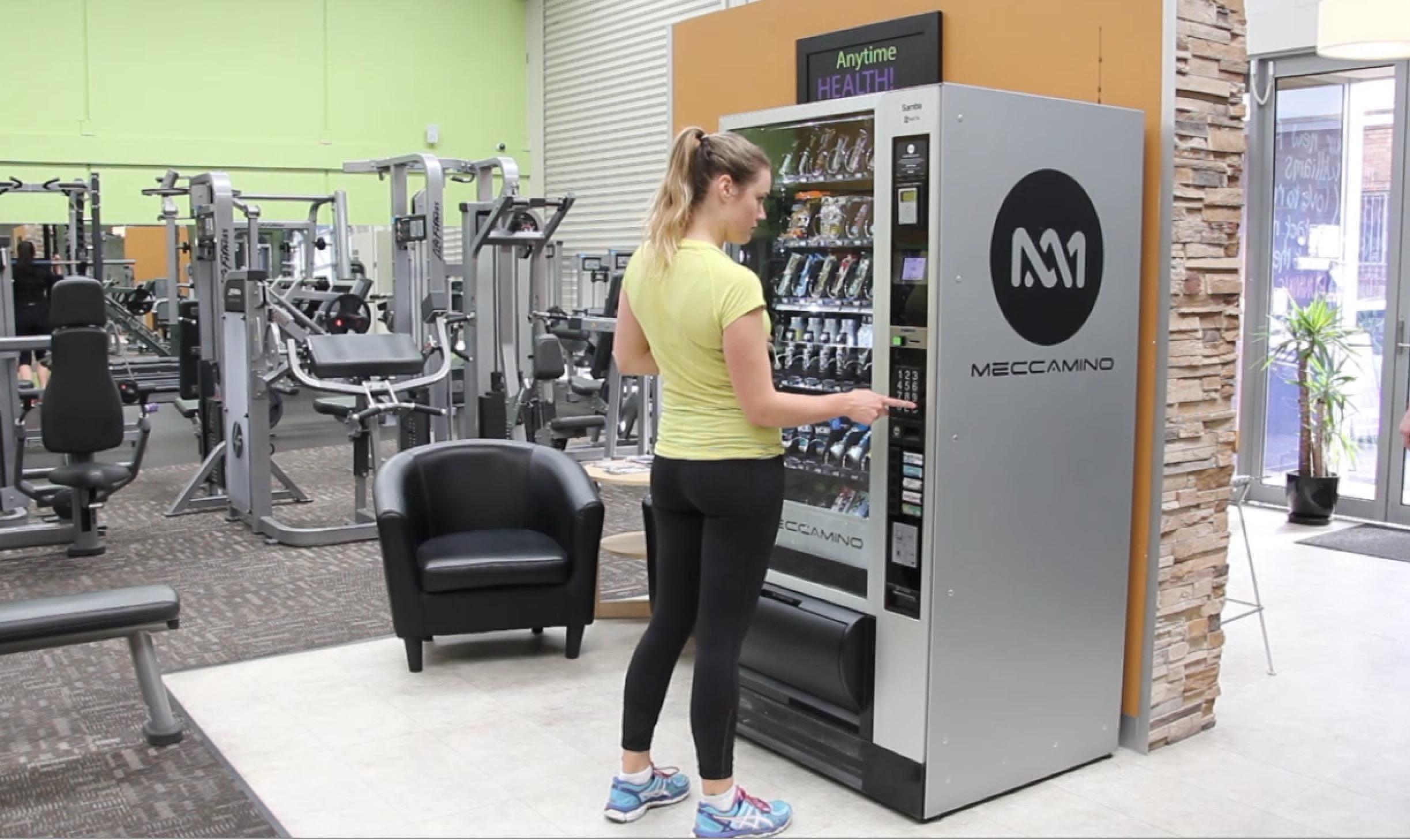 Gym vending machine changing the game meccamino